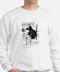 Thoughful reader Sweatshirt