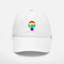 Rainbow Feminist Hat