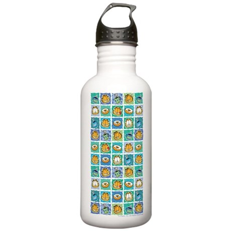 Coffee & Doughnuts Stainless Water Bottle 1.0L