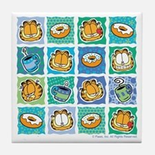 Coffee & Doughnuts Tile Coaster