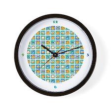 Coffee & Doughnuts Wall Clock