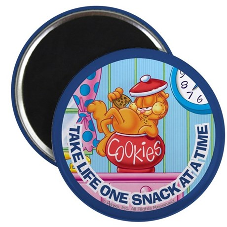 One Snack at a Time Magnet