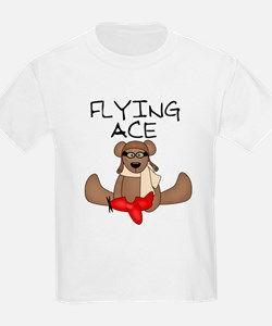 Flying Ace Kids T-Shirt