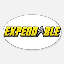 Expendables bumper stickers car stickers decals more for Oval bumper sticker template