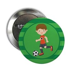 "Soccer Boy 2.25"" Button"