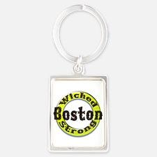WS Bruins Classic Portrait Keychain