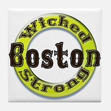 WS Bruins Classic Tile Coaster