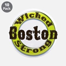 """WS Bruins Classic 3.5"""" Button (10 pack)"""
