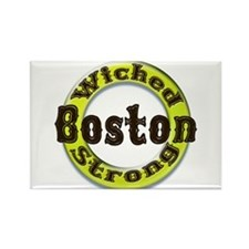 WS Bruins Classic Rectangle Magnet