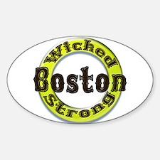 WS Bruins Classic Sticker (Oval)