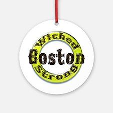 WS Bruins Classic Ornament (Round)