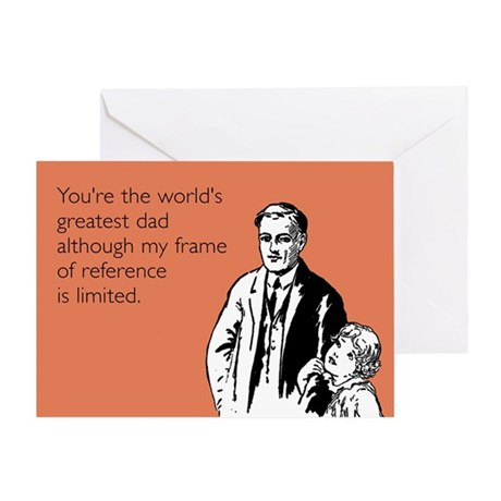 Greatest Dad Greeting Card