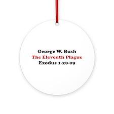 Exodus 1-20-09 Ornament (Round)