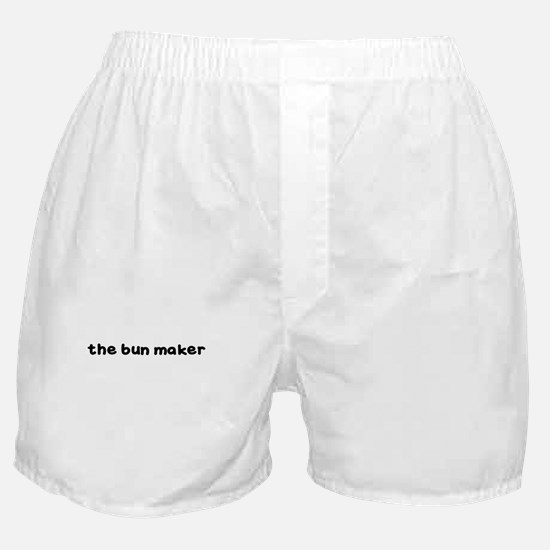 THE BUN MAKER Boxer Shorts