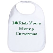 Irish Christmas Bib