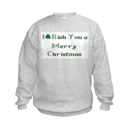 Irish Christmas Kids Sweatshirt