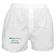 Irish Christmas Boxer Shorts