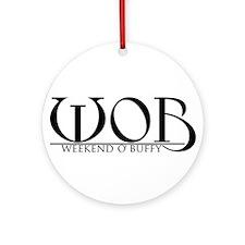Weekend O' Buffy logo Ornament (Round)