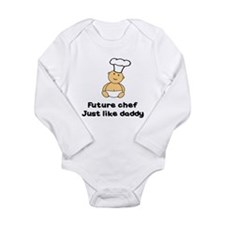 FUTURE CHEF JUST LIKE DADDY Long Sleeve Infant Bod
