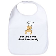 FUTURE CHEF JUST LIKE DADDY Bib
