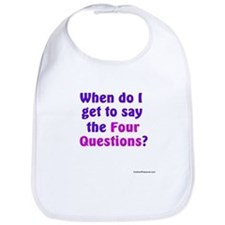 Passover - When do I get to say ... (Baby Bib)