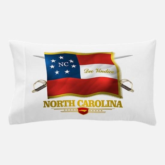 North Carolina -Deo Vindice Pillow Case