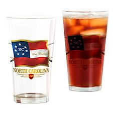 North Carolina -Deo Vindice Drinking Glass