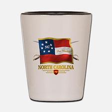 North Carolina -Deo Vindice Shot Glass