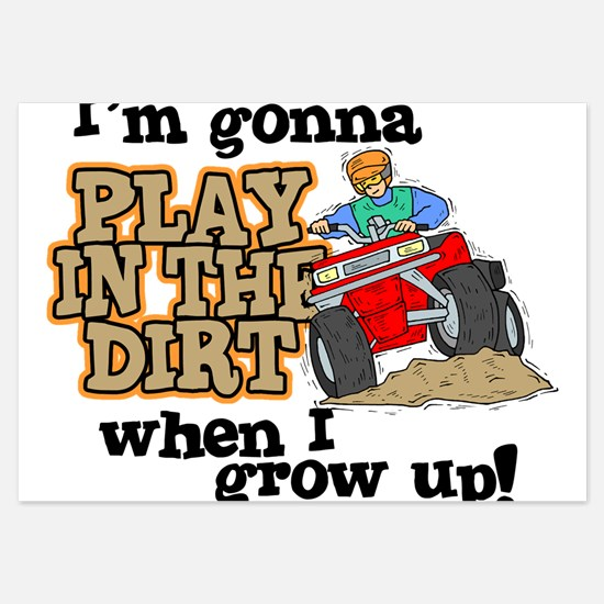 Play In The Dirt Flat Cards