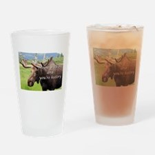 Moose with me and you're history: Alaskan moose Dr