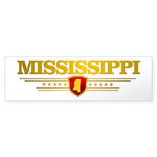 Mississippi -Deo Vindice Bumper Bumper Sticker