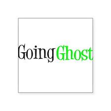 "Danny Phantom, Going Ghost Square Sticker 3"" x 3"""
