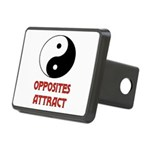 OPPOSITES ATTRACT Rectangular Hitch Cover