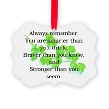 ALWAYS REMEMBER.. Picture Ornament