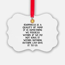 HAPPINESS.. Ornament