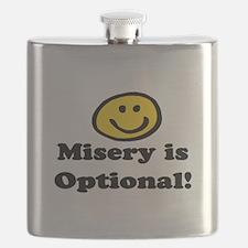 MISERY IS OPTIONAL Flask
