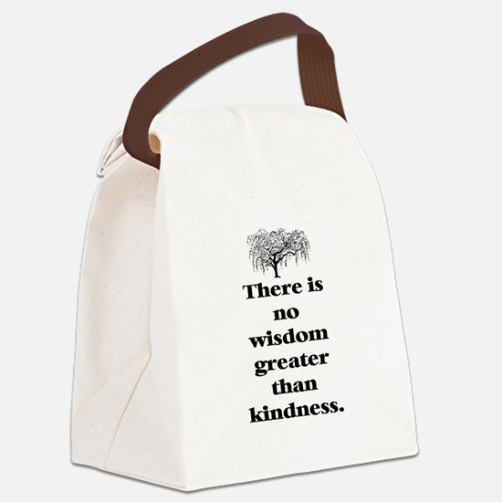 WISDOM GREATER THAN KINDNESS (TREE) Canvas Lunch B