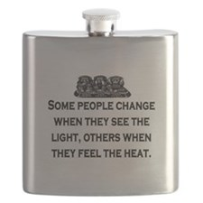 SOME PEOPLE CHANGE... Flask