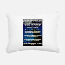 CHEROKEE LESSON Rectangular Canvas Pillow