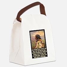 GOOD DEEDS.. Canvas Lunch Bag
