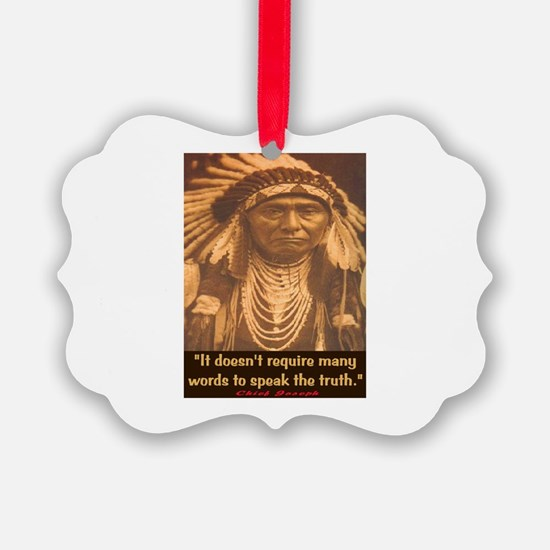 SPEAK THE TRUTH Ornament