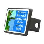 THE ROAD AHEAD Rectangular Hitch Cover