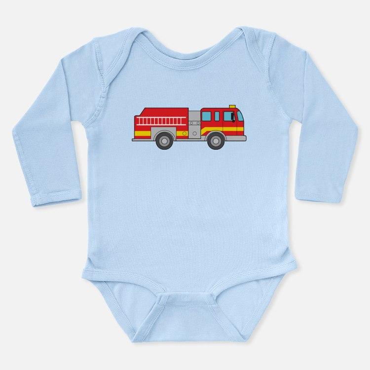 Fire Truck Body Suit