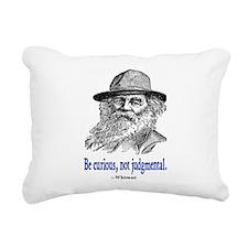 WHITMAN QUOTE Rectangular Canvas Pillow