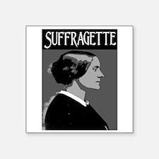 """SUFFRAGETTE Square Sticker 3"""" x 3"""""""