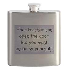 TEACHER OPENS DOOR Flask