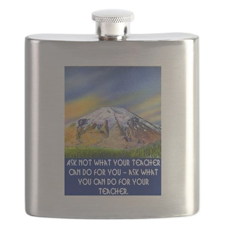 WHAT CAN YOU DO FOR YOUR TEACHER? Flask