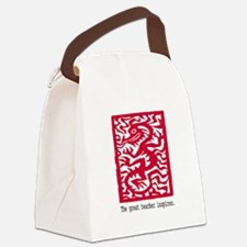 THE GREAT TEACHER INSPIRES Canvas Lunch Bag
