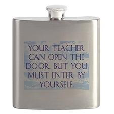 YOUR TEACHER CAN OPEN THE DOOR Flask