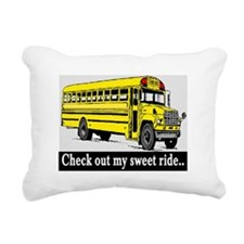 CHECK OUT MY SWEET RIDE Rectangular Canvas Pillow